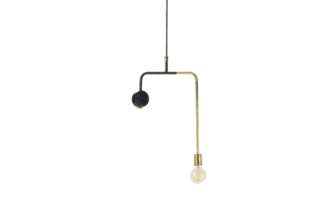 Hanglamp Wick - Goud