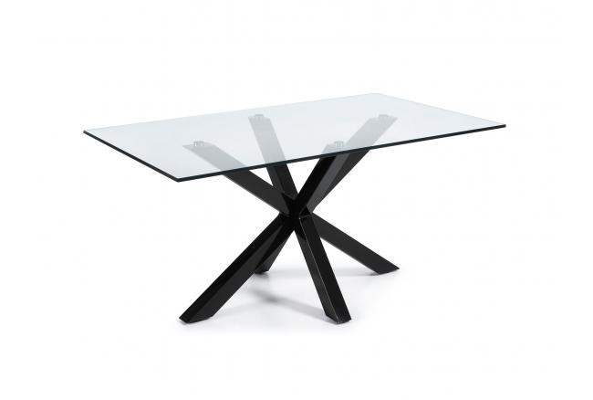 Tafel ARGO - Glas/zwart