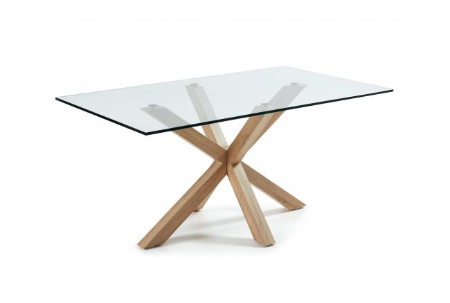 Tafel ARGO - Glas/houtlook