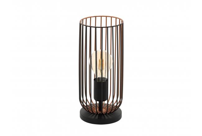 Tafellamp ROCCAMENA - Zwart/ko