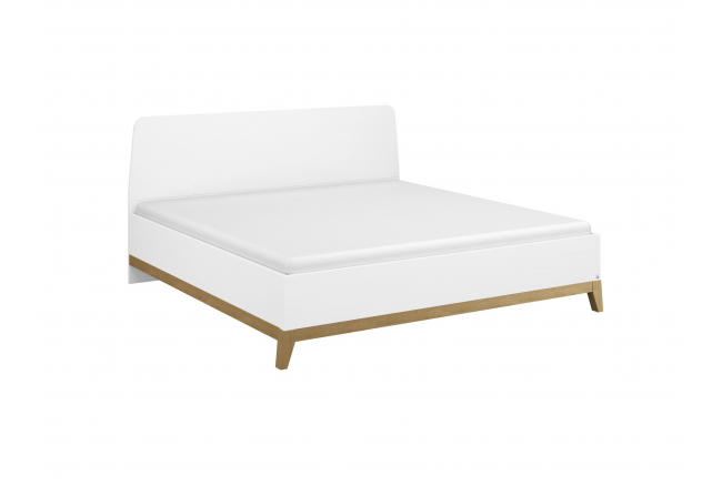 Bed 180x200 CARLSSON - Wit