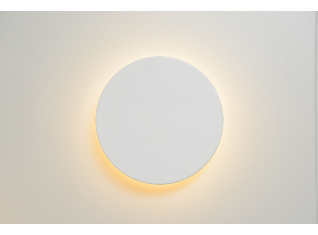 Wandlamp EKLYPS LED - Wit