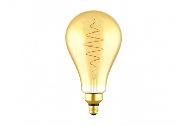 Lichtbron E27/LED 8,5W spiraal