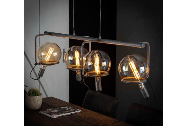 Hanglamp SATURN - Oud zilver