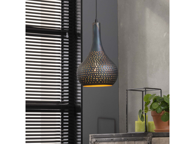 Hanglamp 1x industry concret k