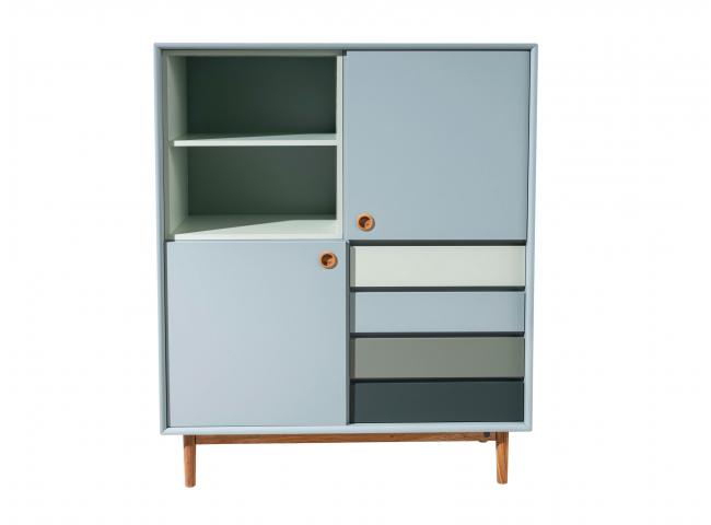 Highboard COLOR BOX - Sage