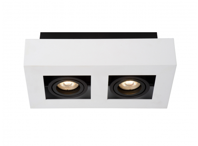 Spot XIRAX - Wit/zwart