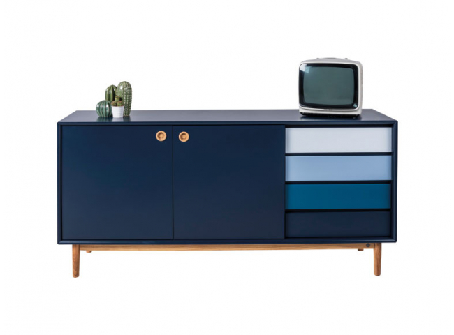 Dressoir COLOR BOX - Navy Blue