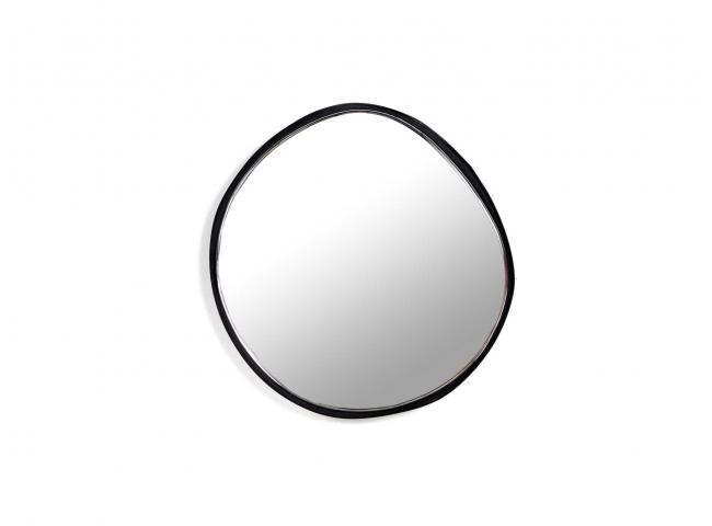 Spiegel A - Zwart/glas