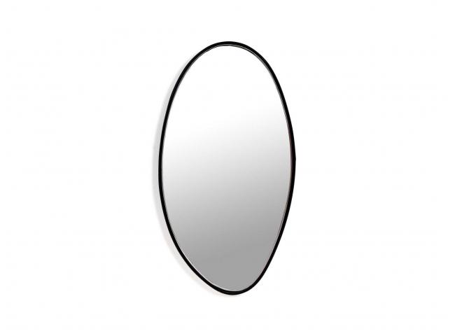 Spiegel B - Zwart/glas