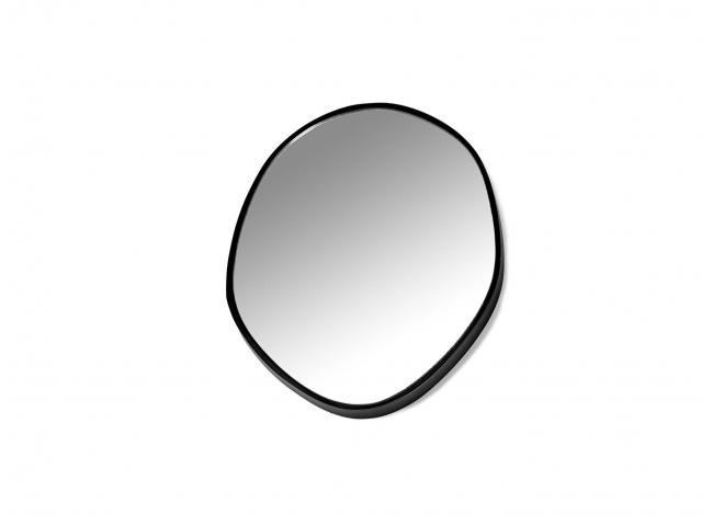 Spiegel C - Zwart/glas