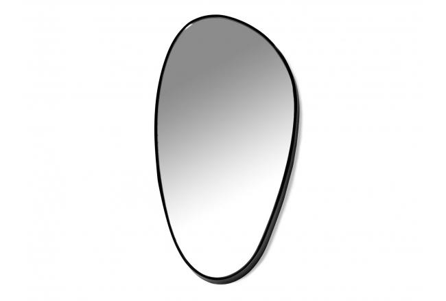 Spiegel D - Zwart/glas