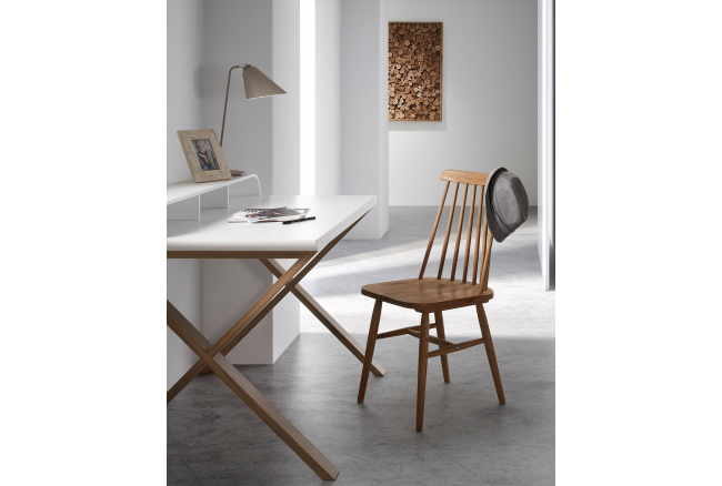 Stoel TRESSIA - Naturel hout