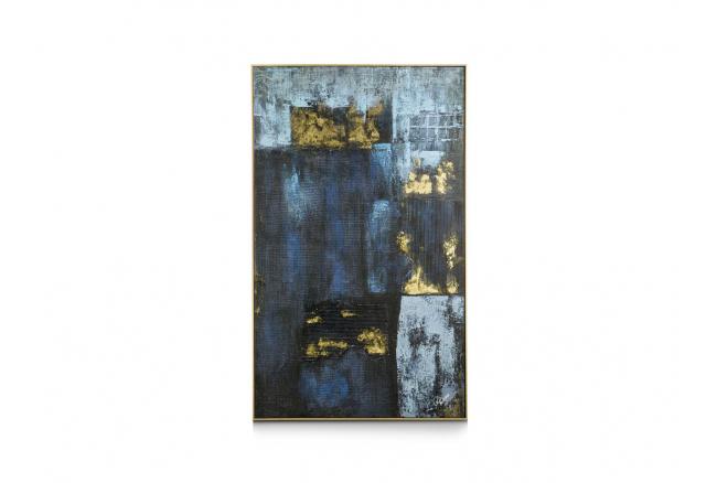 Schilderij BLUE ABSTRACT
