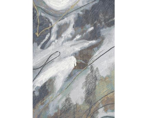 Tapijt ARGENTUM - Schilderij