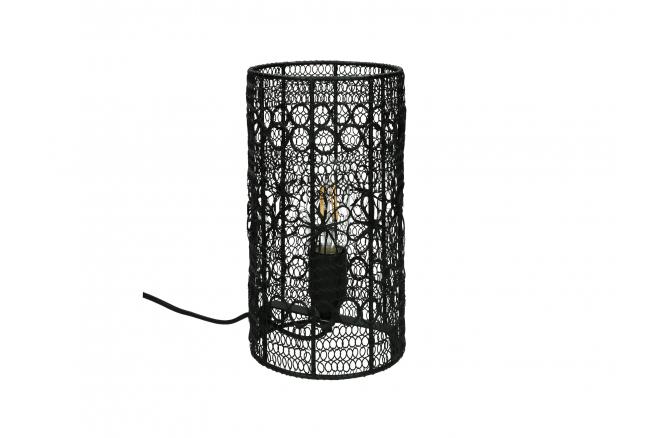 Tafellamp MAZE - Zwart metaal