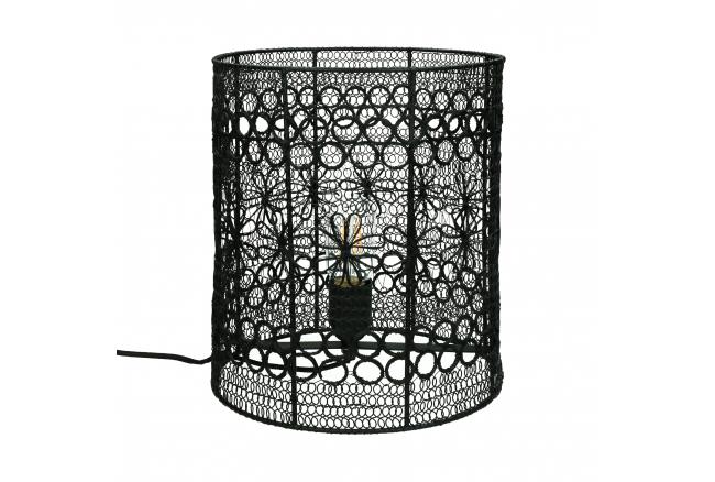 Tafellamp MAZE breed - Zwart m
