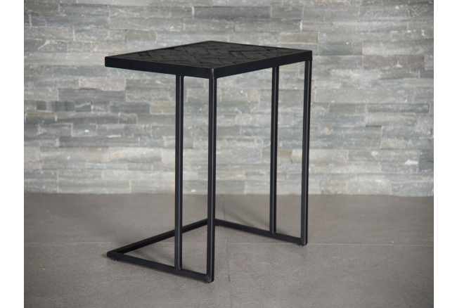 Laptoptafel BLACK STEEL - Zwar