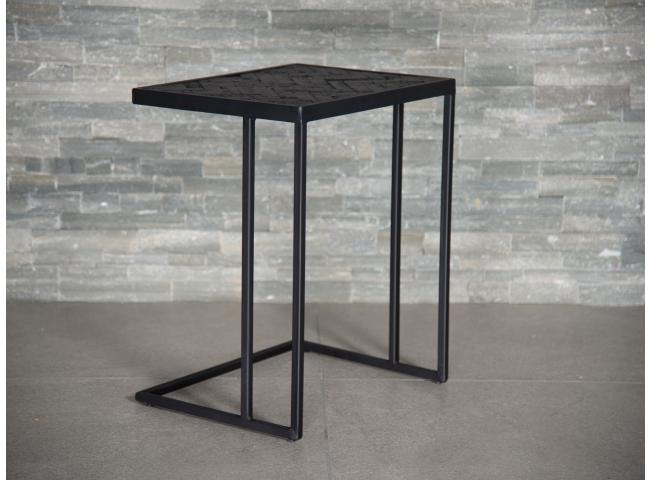 Laptoptafel BLACK STEEL - Zwar