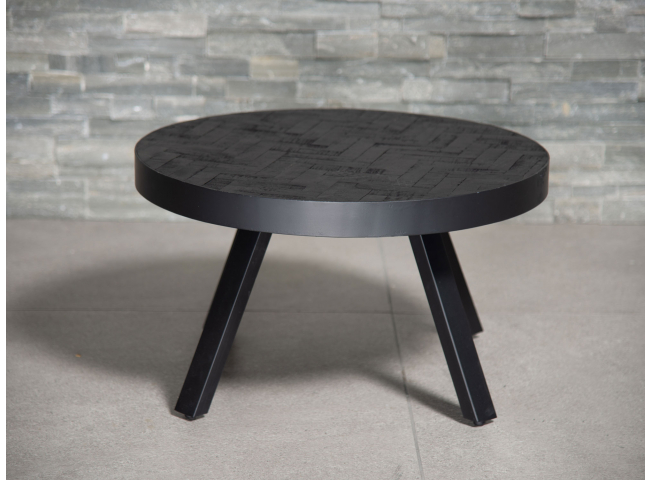 Salontafel klein BLACK STEEL -