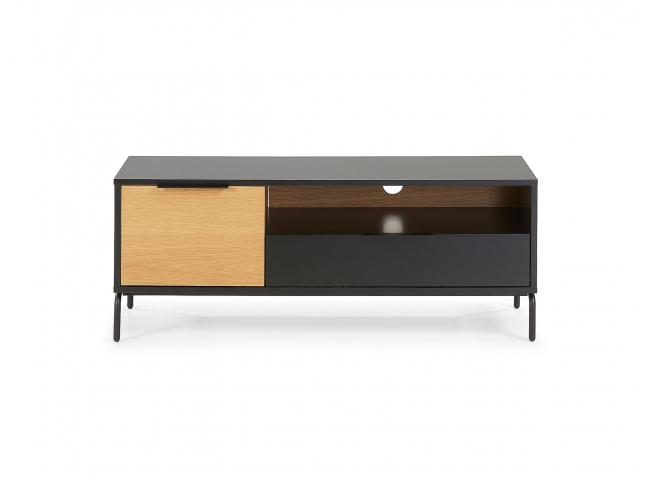 Tv-meubel klein SAVOI - Zwart/