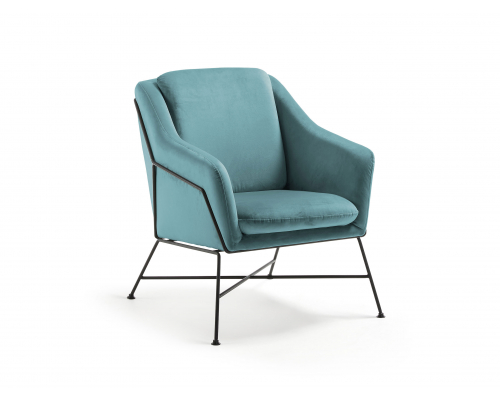 Fauteuil BRIDA - Turquoise