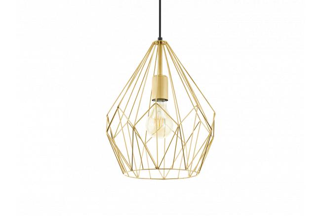 Hanglamp 'Carlton' - kleur: Or