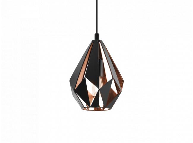 Hanglamp CARLTON 1 small - Zwa