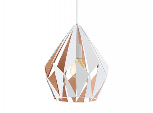 Hanglamp 'Carlton' - kleur: Wi
