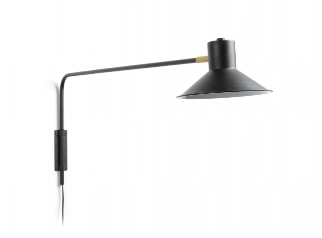 Wandlamp ARIA - Metal black