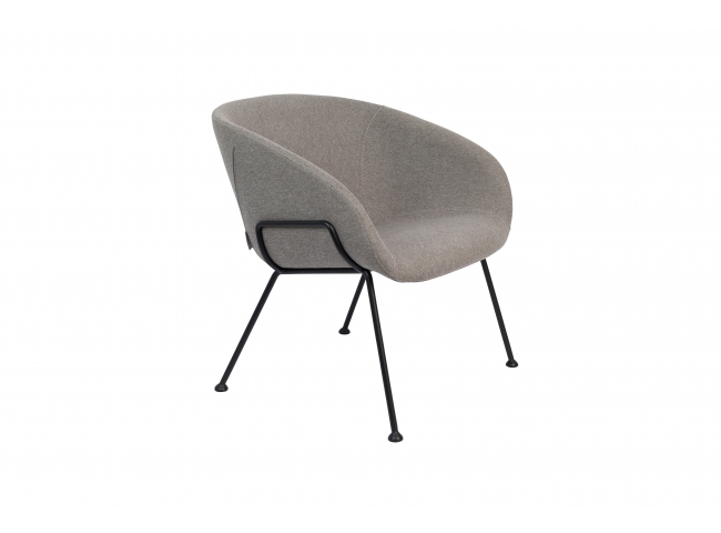 Lounge chair FESTON - Grey