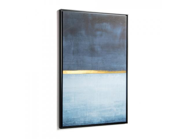 Schilderij WRINGLEY - Blue