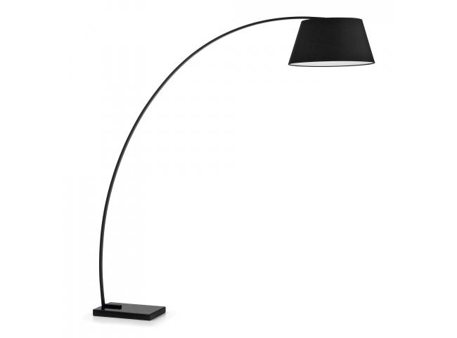 Vloerlamp JUHE - Zwart
