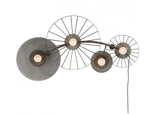 Wandlamp CRAWFORD - Metaal