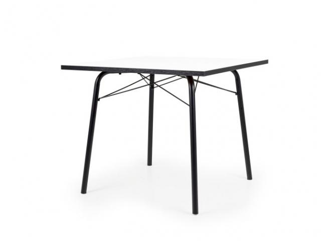 Eetkamertafel DINE - Wit/Zwart