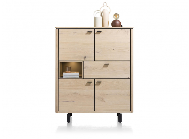 Highboard LIVADA - Natural lac