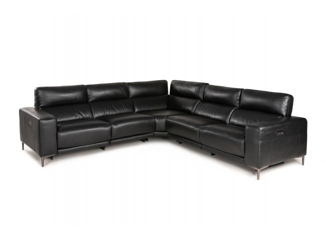 Hoekzetel RS12262 - Zwart lede