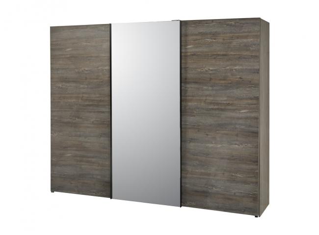 Kleerkast met spiegel COBO - G