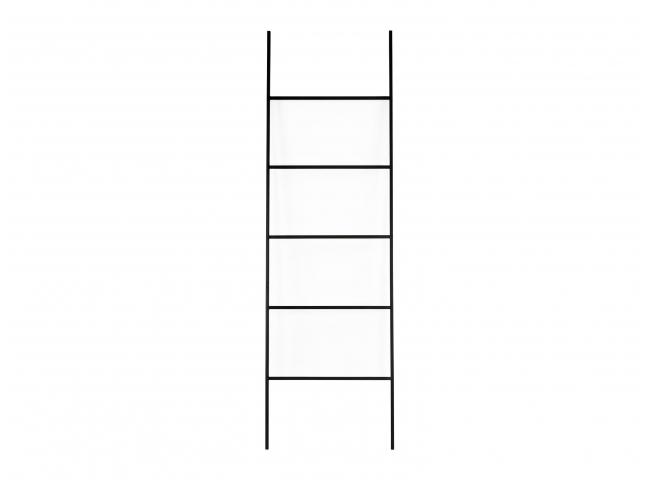 Ladder STAIRWAY - Zwart metaal