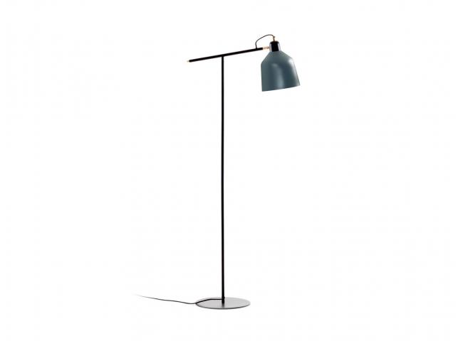 Vloerlamp OLIMPIA - Blauw