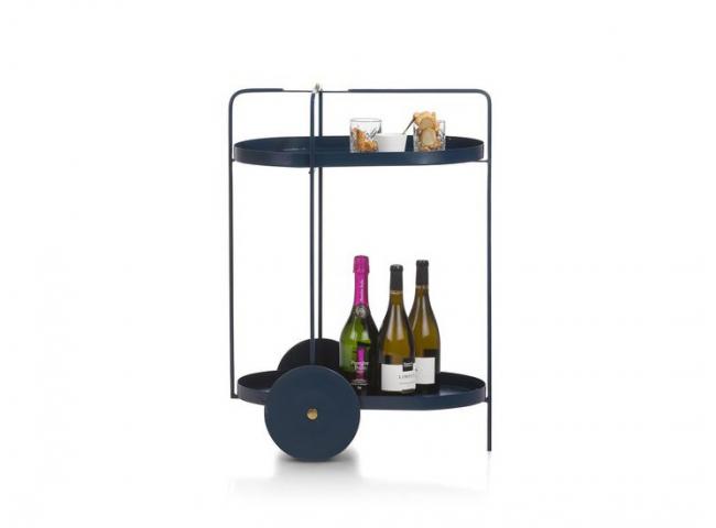 Trolley CARLI - Blauw