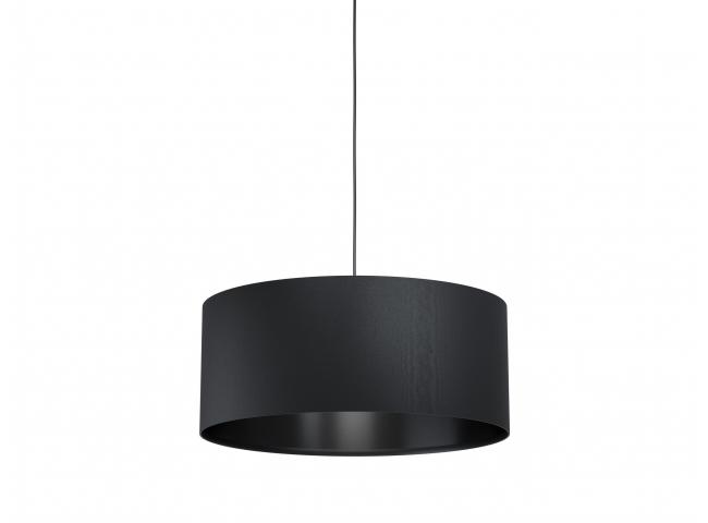 Hanglamp Maserlo 1 medium zwart