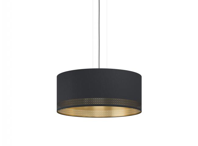 Hanglamp ESTEPERRA groot - Zwa
