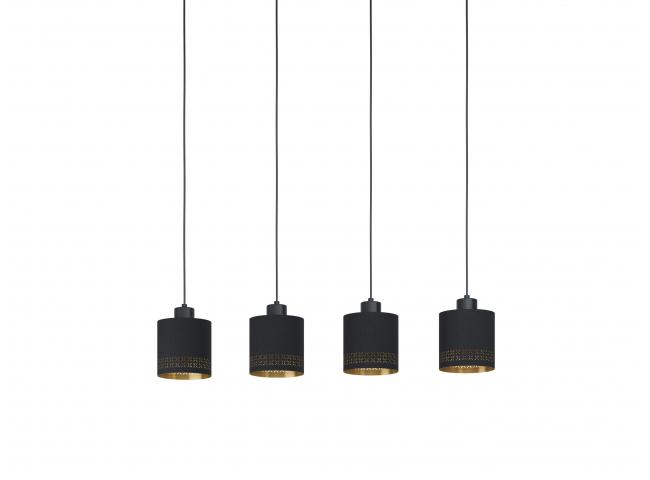 Hanglamp ESTEPERRA - Zwart/gou