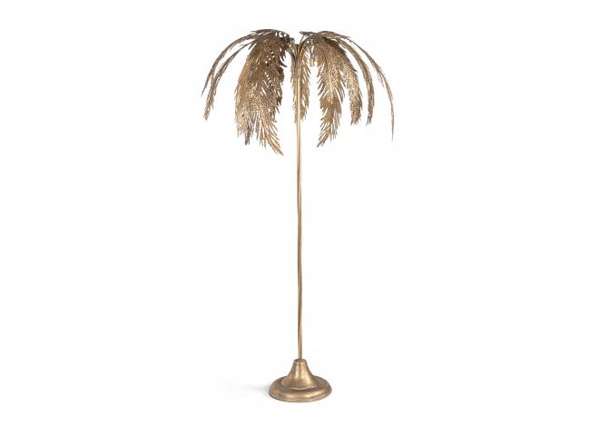 Vloerlamp PALMBOOM - Goud
