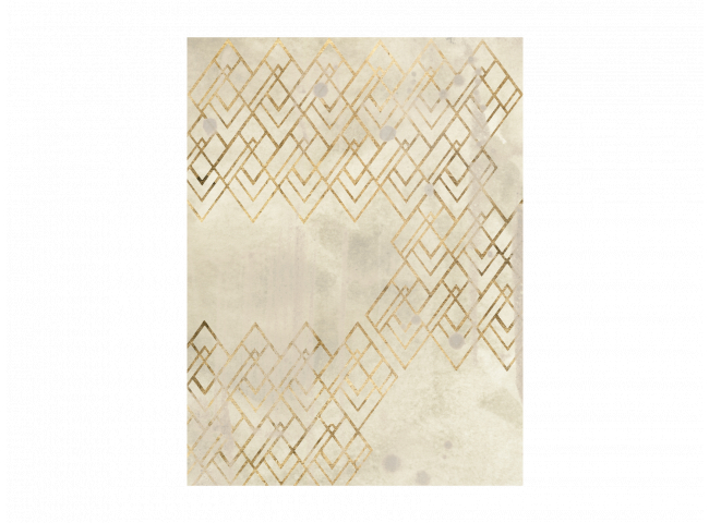Kader pattern in cream IV