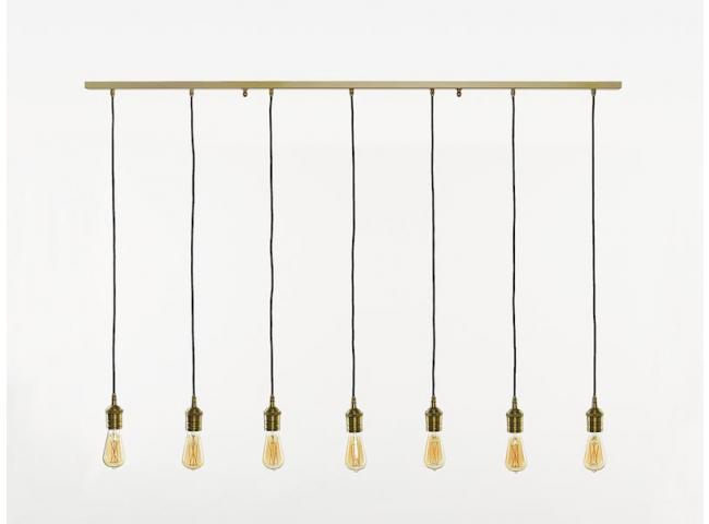 Hanglamp CORDOBA x7 - Vintage