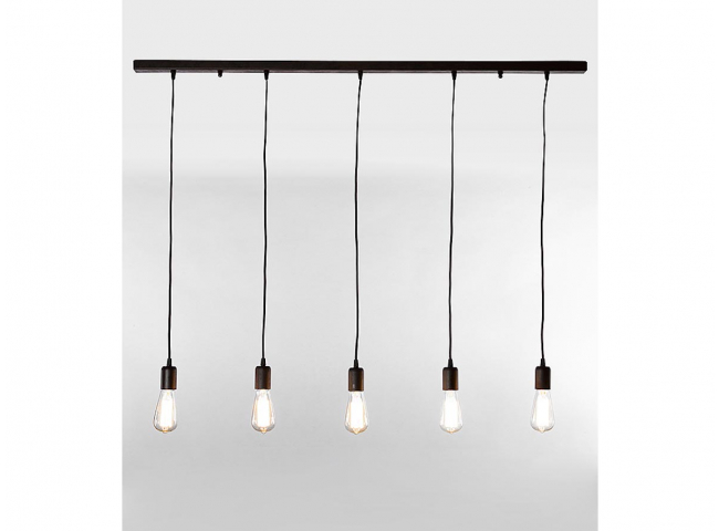 Hanglamp TOULA 5x - Roest