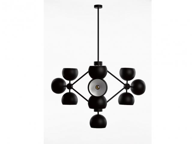Hanglamp GUGGENHEIM - Zwart