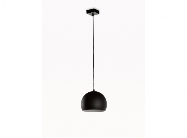 Hanglamp GUGGENHEIM 1x - Zwart
